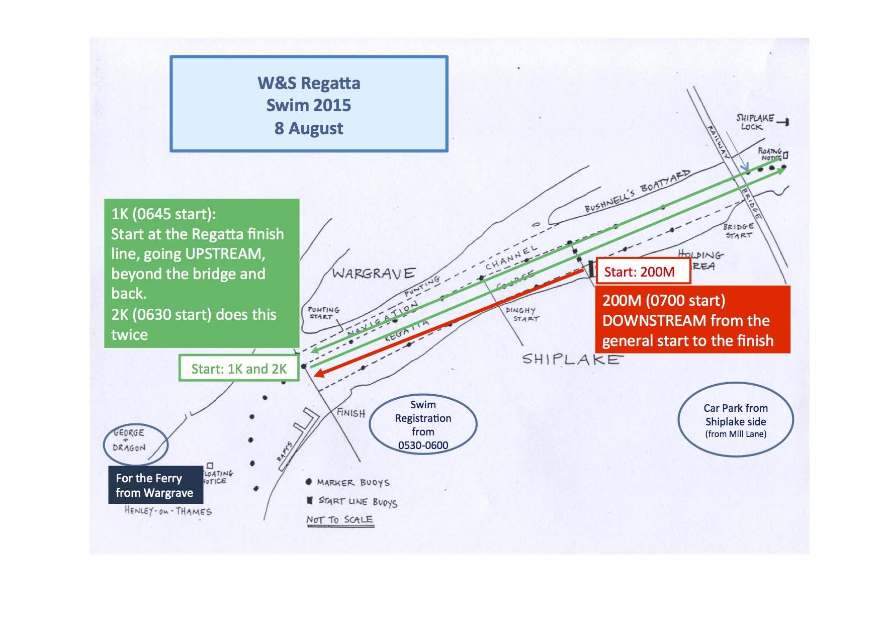 WSR Swim 2015 Info