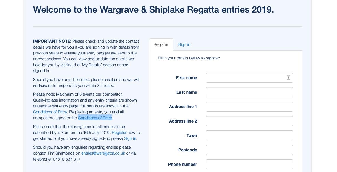 Regatta Entries Now OPEN! | The Wargrave and Shiplake Regatta